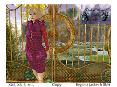 April Group Gift @ Roots & Wings Clothing - Begonia Jacket & Skirt