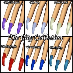 the city nail collection