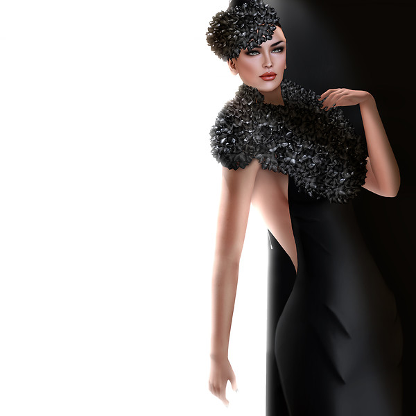 GizzA - Hydrangea Gown
