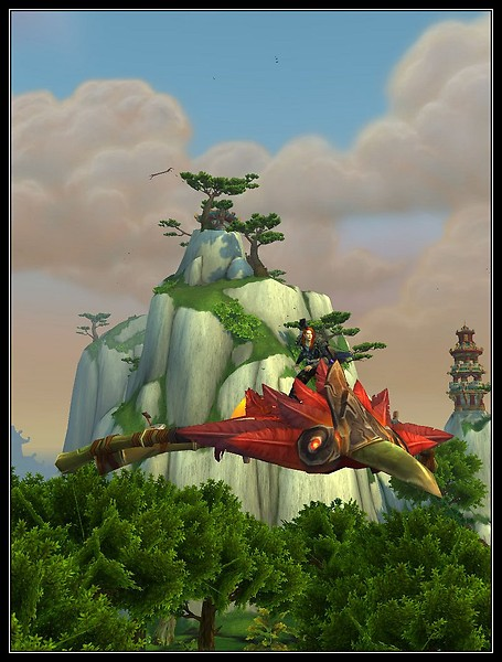 Pandaria -Traveling in Style