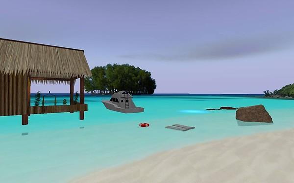 Online private beach