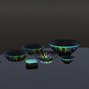 QT KA Memorial Black bowl set vendor image
