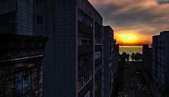High Rise Sunrise
