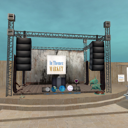 In Themez June metallic  stage