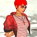 3D Avatar #Pretty in red