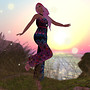 SL Outfit of the Day: Bright Resort at Sunset