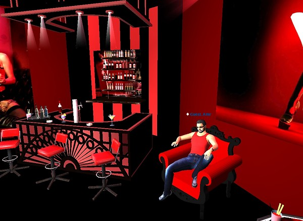 Red Lounge 3D Club