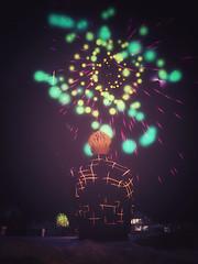 Tanabata with Fireworks
