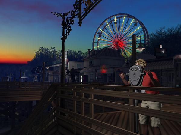 After Sunset in Wayward Carnival
