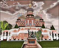 Moscow in secondlife
