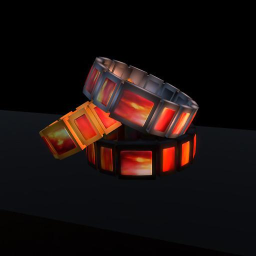 QT Male Mars wristband all colours vendor image