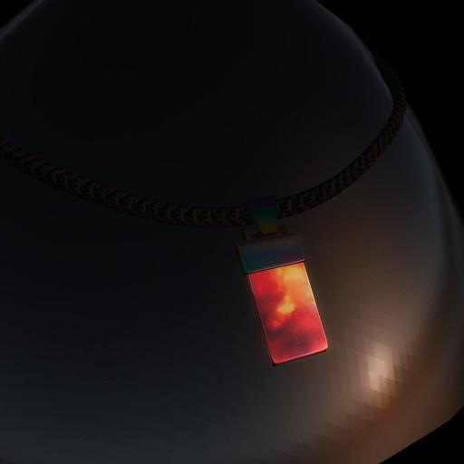 QT GL Male Mars Pendant black mcNT vendor image