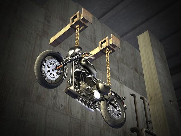 Motorbike Bondage