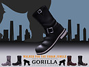 Gorilla Ankle Engineer Boots - MP Cover Slide/FINAL