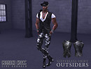 Sleeveless Shirt: OUTSIDERS - Additional POP Slide