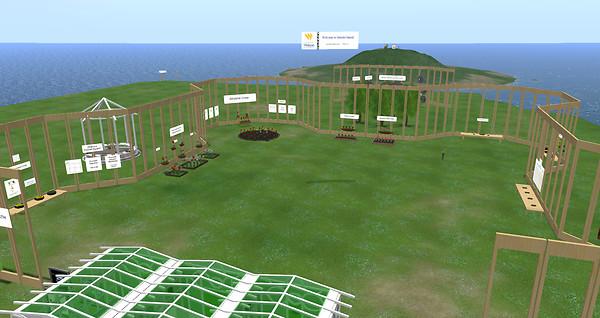 Mendel's Garden, GENOME Island@VIBE