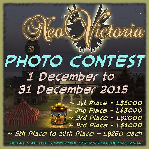 NeoVictoria Photo Contest 2015 Advert 512x512