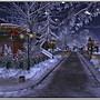 la magia del Natale di notte