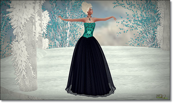 LaVaughn Gown…by.. HHC…@ {SWANK}