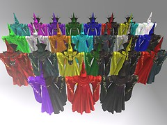 Armored Robe 24 colors