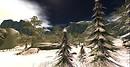 Calas Galahon White Christmas Treetop