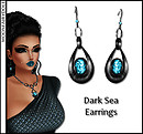 Dark Sea Earrings