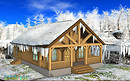 Wooden Cottage for All Seasons
