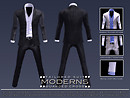 Tailored Suit: MODERNS - New Product Release Notice/POP Display Slides