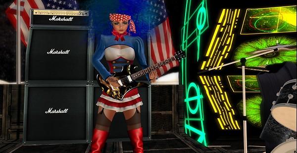 Urantia Rockers in the USA Roxy
