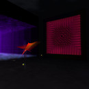 QT Gallery 2 - Dance floor wall & ribbon particles