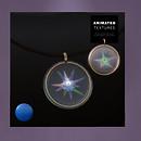 QT SC starburst pendant necklace male Vendor MP