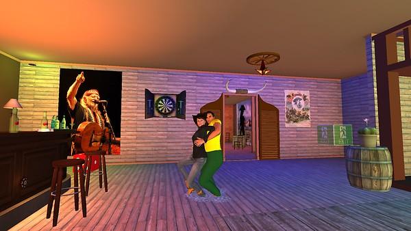The Rocking W Saloon