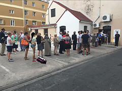 gibraltar-residents-wait-in-line-to-cast-their-vote_27585819340_o