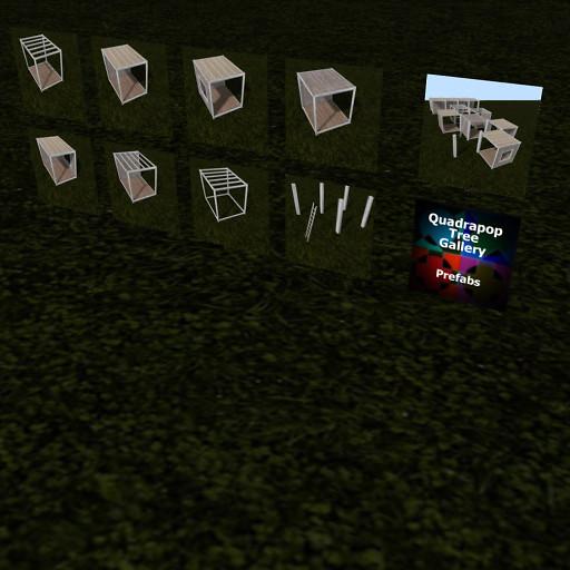 QT P2S Shabby Modular Stall system advert image