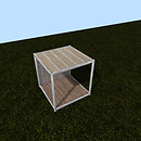 QT P2S Shabby modular stall mid vendor image
