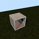 QT P2S Shabby modular stall cnr R vendor image