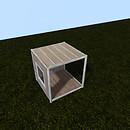 QT P2S Shabby modular stall cnr L vendor image