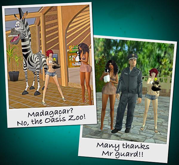 Envi & I At The Oasis Zoo