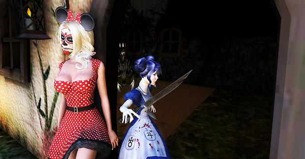 ...run Minnie... run!