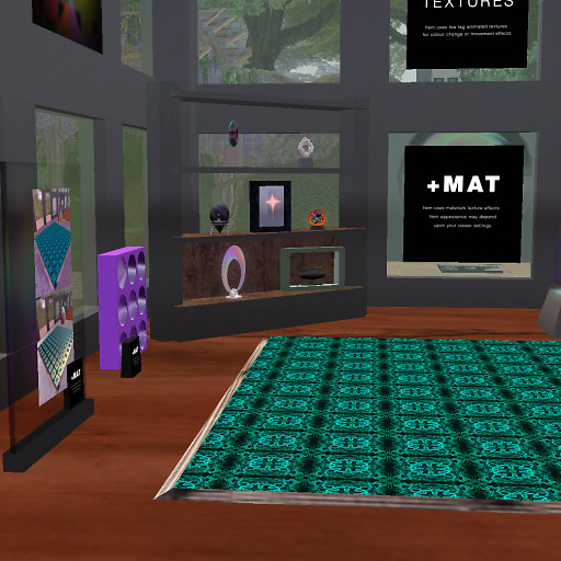 QT ISM Shop - Silk Tiles Floor & More minus mat