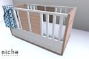 Little *niche* Modern Crib