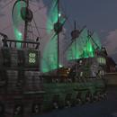 ghost ship on neovictoria