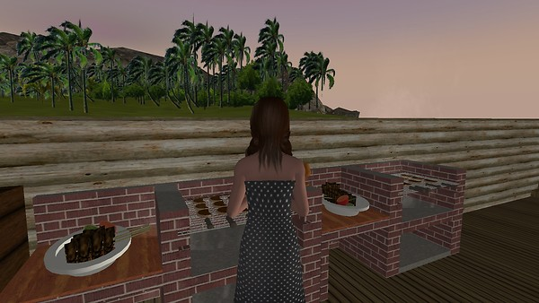 Making a Barbecue