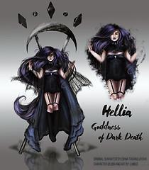 Goddess of Dark Death
