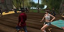 Zydeco barn dance party at the Serenes