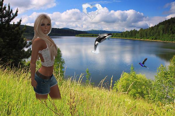 A trip to the lake