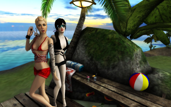 BFF girl hangout inVW