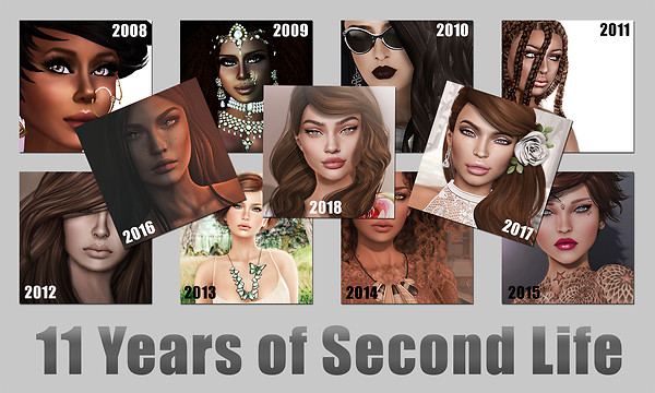 11 Years of Second Life