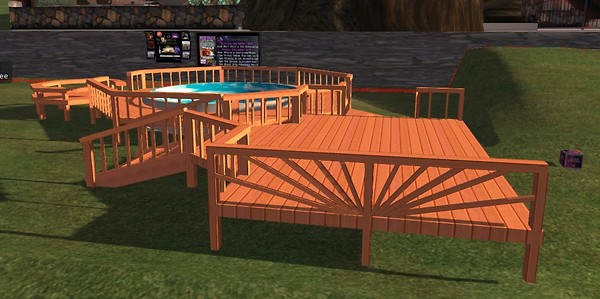 pool deck in SL