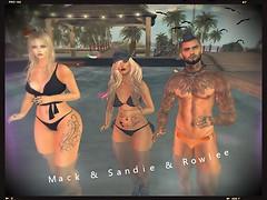 Mack Sandie and Rowlee